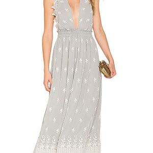 New LoveShackFancy Isabel Embroidered Maxi Dress